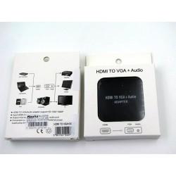 Adapter HDMI do VGA + audio