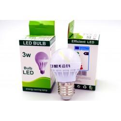 Żarówka LED E27 3W 6500K