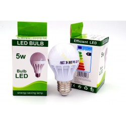Żarówka LED E27 5W 6500K