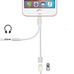 Adapter Rozgałęziacz Lightning do Jack / USB
