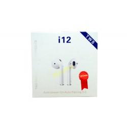 Słuchawki Bluetooth i12 TWS AirPods