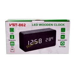 Zegarek Budzik Termometr VST-862