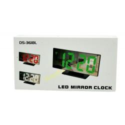 Zegarek Budzik Termometr Lusterko DS-3618L