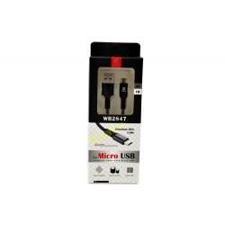 Kabel micro USB 2.0A WB2847