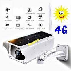Kamera Ip Zewnętrzna Solar Y9-4G  low-power solar wifi bullet camera