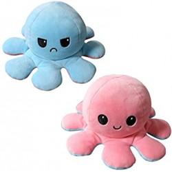 Ośmiornica Maskotka Pluszowa Dwustronna Octopus