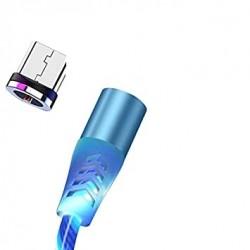 Kabel Magnetyczny micro USB 1m 5A