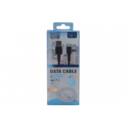 Kabel USB Typ C 3m 3A SK1006